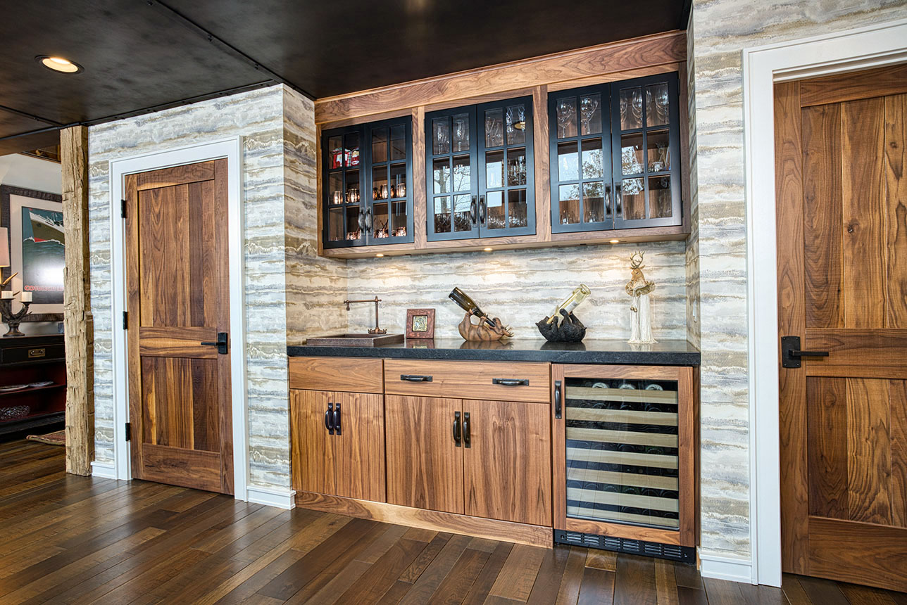 Custom cabinets and doors