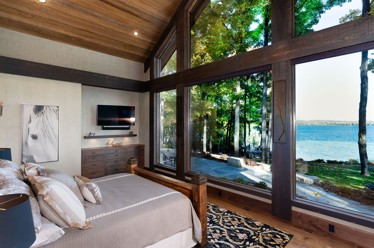 Master Bedroom Lake View