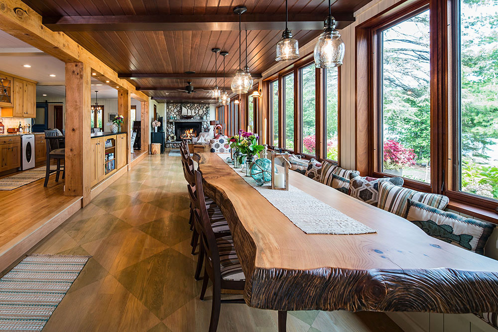 Remodeled historic home on Torch Lake